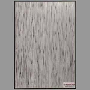 Зеркало Дождь Серебро, 3 Черный