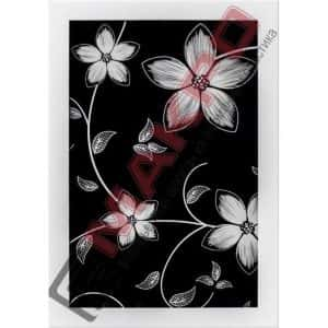Весна Черная, Профиль Узкий ПР-2 Белый Глянец