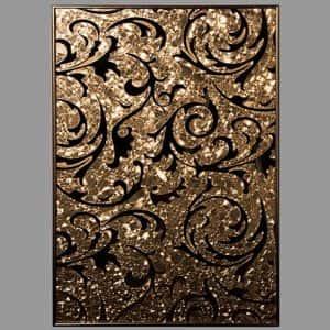Зеркало Барокко Слюда Золото, 3 Серебро
