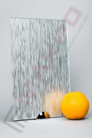 Зеркало «Дождь Серебро»