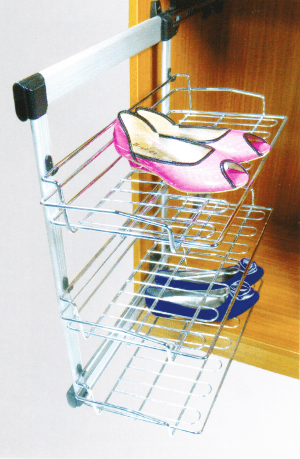 Обувница выдвижная боковая