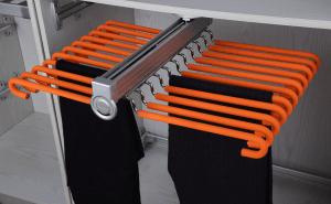 Брючница выдвижная двойная оранжевая верхнего крепления