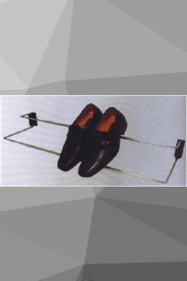 Обувница одноуровневая раздвижная с креплением к корпусу