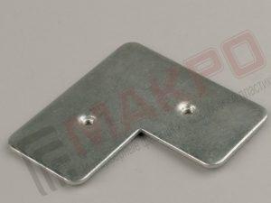 угол для рамочных алюминиевых профилей