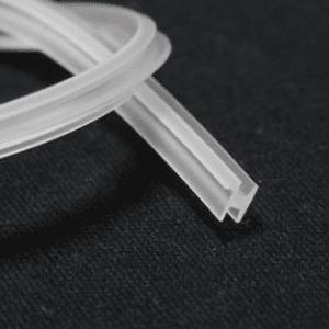 уплотнитель для профиля №3 под стекло 4 мм